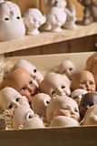 Doll heads Royalty Free Stock Photos