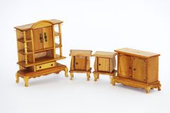 Doll house furniture Royalty Free Stock Photo