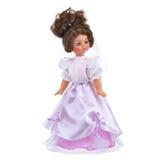 Doll in huwelijkskleding Stock Foto