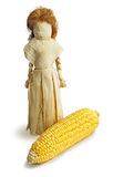 Doll from the leaves of corn Royalty Free Stock Photos