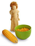 Doll from the leaves of corn Royalty Free Stock Photography
