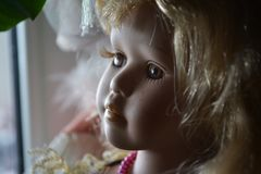 A Doll in Light stock photo