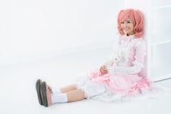 Doll-like Royalty Free Stock Image