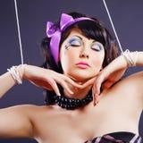 Doll makeup Stock Photography