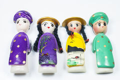 Doll Male and female Vietnam traditional souvenir Royalty Free Stock Photography