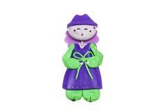 Doll Male Korea traditional souvenir Stock Photo