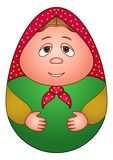 Doll matreshka Royalty Free Stock Images