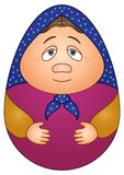 Doll matreshka Royalty Free Stock Photos