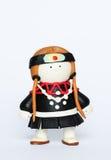 Doll met de hand gemaakt in Thailand Stock Foto