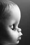 Doll met Gesloten Ogen Stock Foto