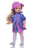 Doll in moderne kleding Royalty-vrije Stock Foto's
