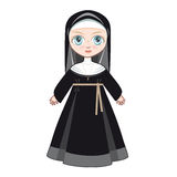 Doll in a monastic dress Stock Images