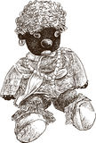 Doll moor Royalty Free Stock Photo