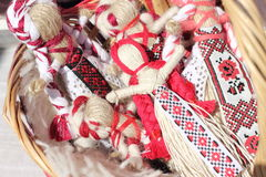 Doll motanka Royalty Free Stock Photos
