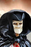 Doll in mouthless mask Stock Photography