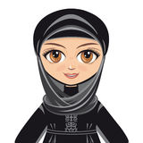 The doll in Muslim dress.  Avatar Stock Image