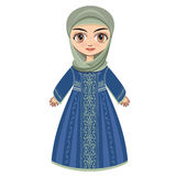 The doll in Muslim dress. Stock Photos