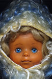 Doll old toy portrait Royalty Free Stock Photos