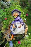 Doll of old witch Stock Images