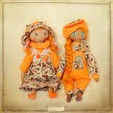 Doll pair Royalty Free Stock Photo