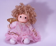 Doll pink dress Stock Image