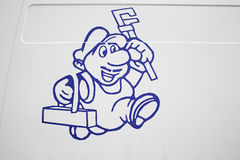 Doll plumber stock photography