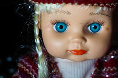 Doll portrait Royalty Free Stock Photos
