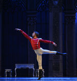 The doll into a prince-The Ballet  Nutcracker Royalty Free Stock Image