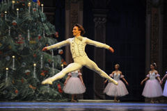 The doll into prince returned to the sweets Kingdom-Tableau 3-The Ballet  Nutcracker Stock Images