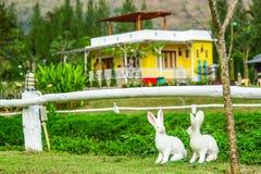 Doll Rabbits Royalty Free Stock Photos