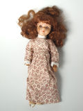 Doll with red hair Stock Photography