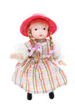 Doll with Red Hat Stock Photography