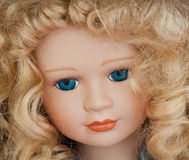 Doll's Face Stock Photography