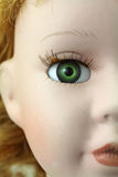 Doll's face Royalty Free Stock Photo