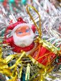 Doll of Santa Claus Stock Image