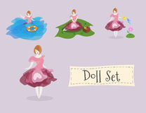 Doll set Stock Photography