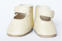 Doll shoes Royalty Free Stock Images