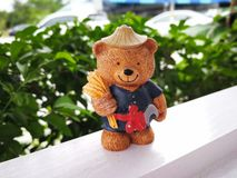 Doll stuk speelgoed Stock Foto's