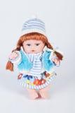 Doll stuk speelgoed voor meisje stock afbeeldingen