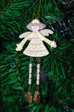 Doll toy Christmas decorations Royalty Free Stock Photos
