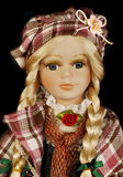 Doll Toy Portrait,  Closeup Royalty Free Stock Photography