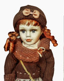 Doll Toy Portrait Royalty Free Stock Photography