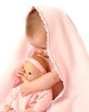 Doll van de baby Stock Fotografie