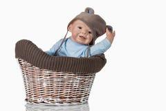 Doll van de Jongen van de baby Stock Afbeeldingen