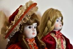 Doll van de oude tijden royalty-vrije stock afbeeldingen