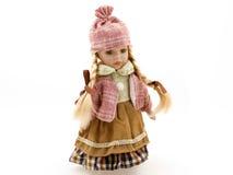 Doll van het porselein Stock Afbeelding