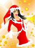 Doll van Kerstmis Royalty-vrije Stock Afbeelding