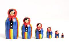 Doll van Matryoshka Royalty-vrije Stock Foto