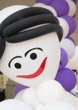Doll verdraaide ballons royalty-vrije stock afbeelding