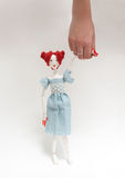 Doll walk Stock Image